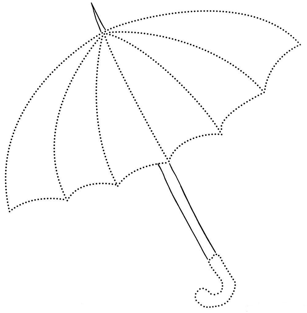 Раскраски зонты