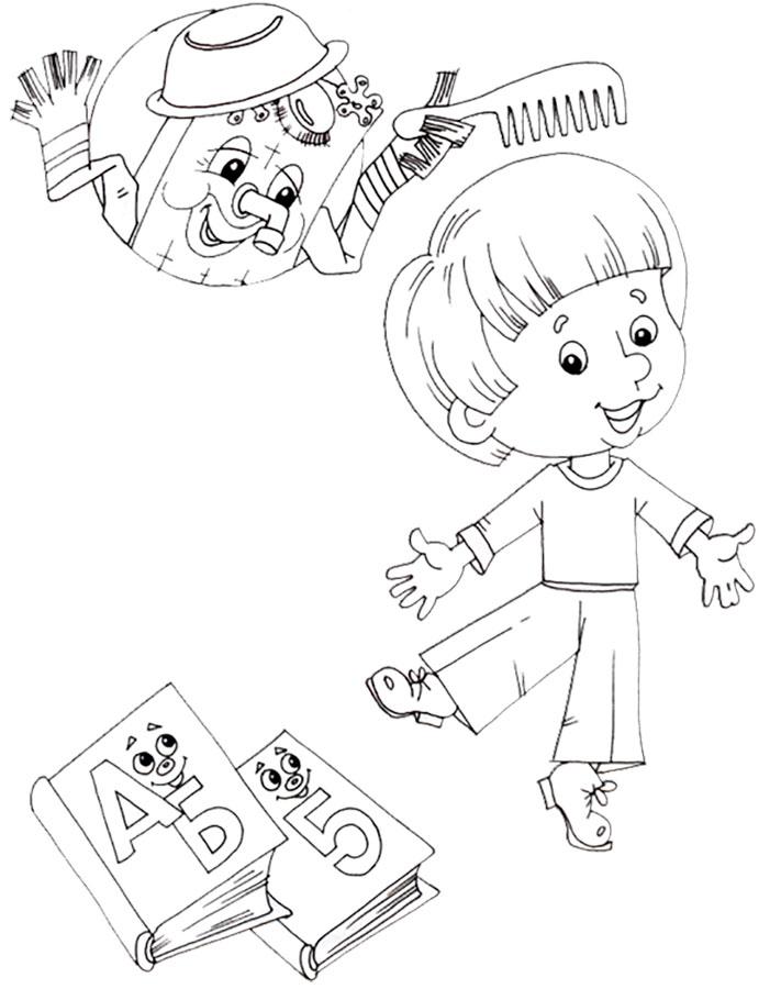 нарисовать рисунок мойдодыр в школу первый класс обходились