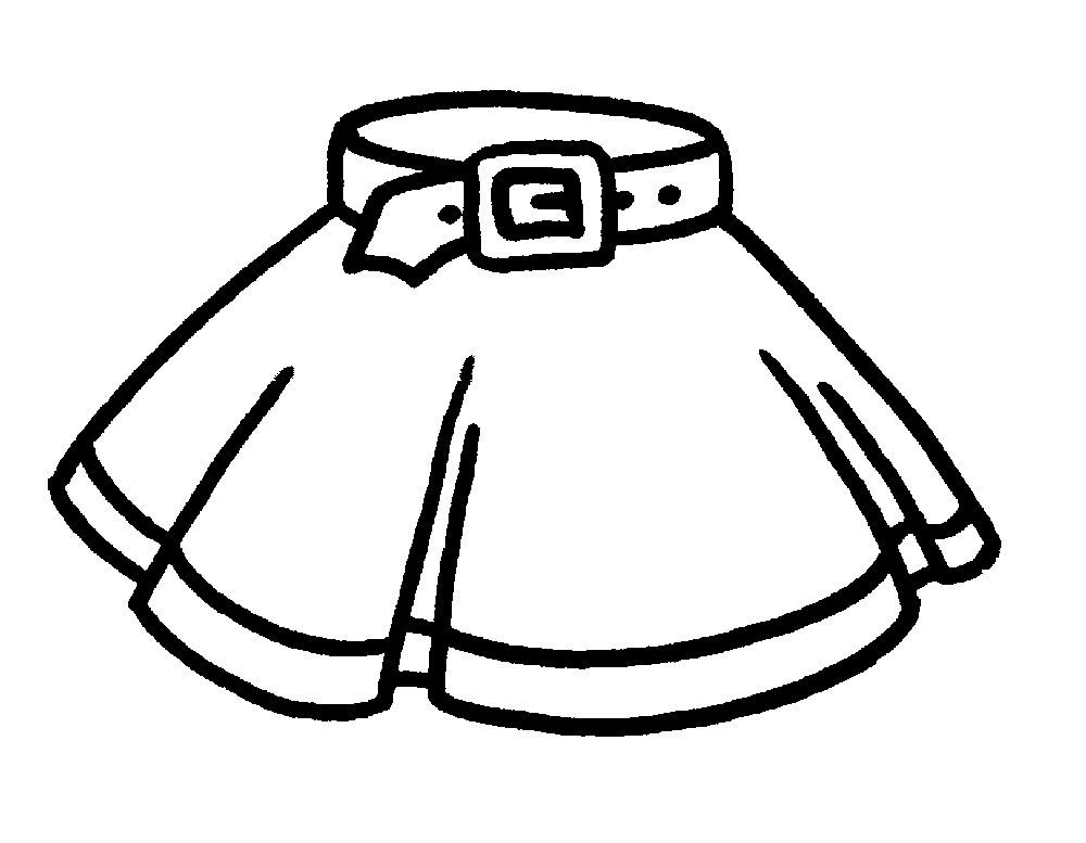 Раскраска одежды для малышей