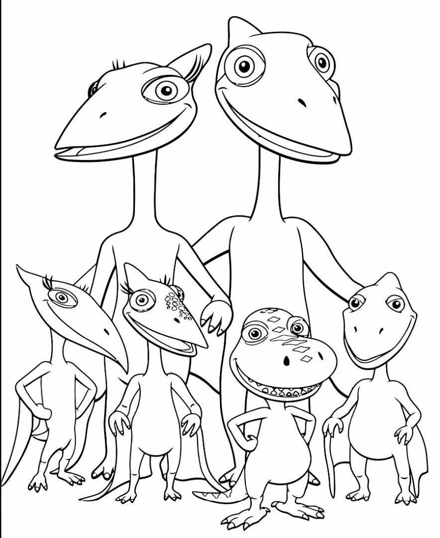 раскраски поезда динозавров онлайн бесплатно раскраски онлайн