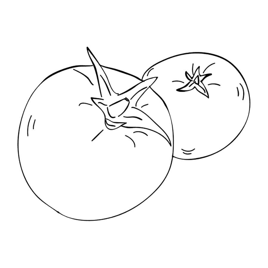 гостиная картинка помидор рисовать пятна паху