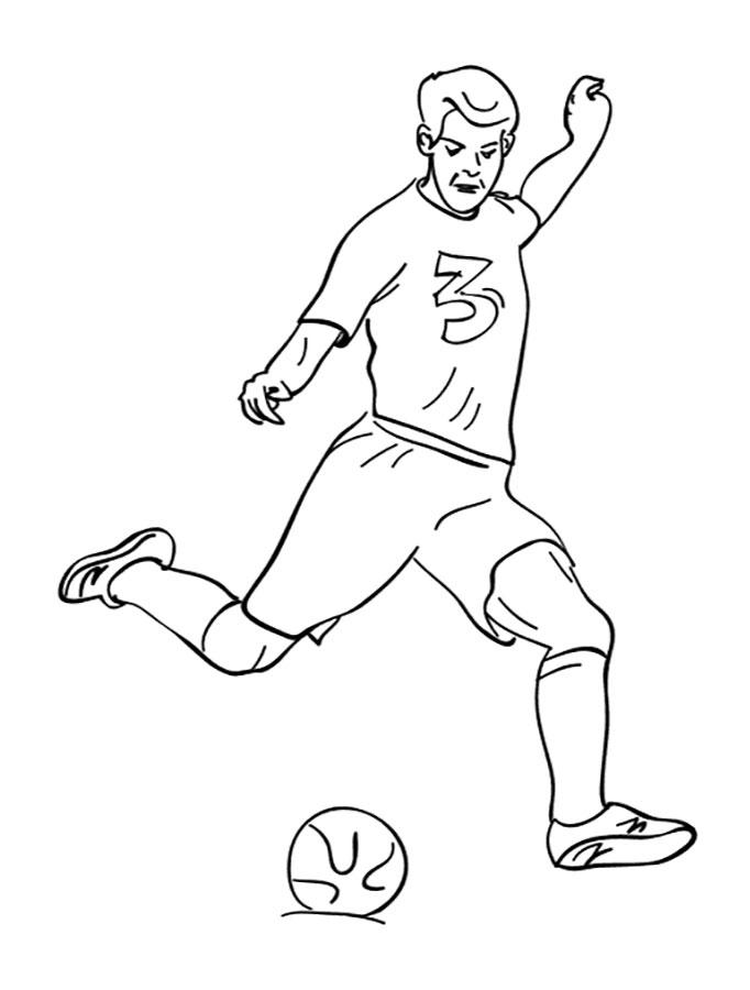 Картинки с футболом для срисовки