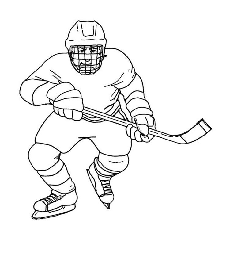 рисунок хоккеиста картинки того чтобы