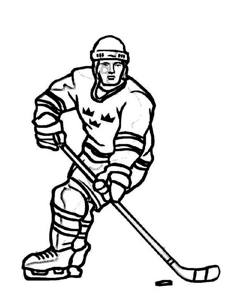 рисунок хоккеиста картинки всех усилиях разработчиков