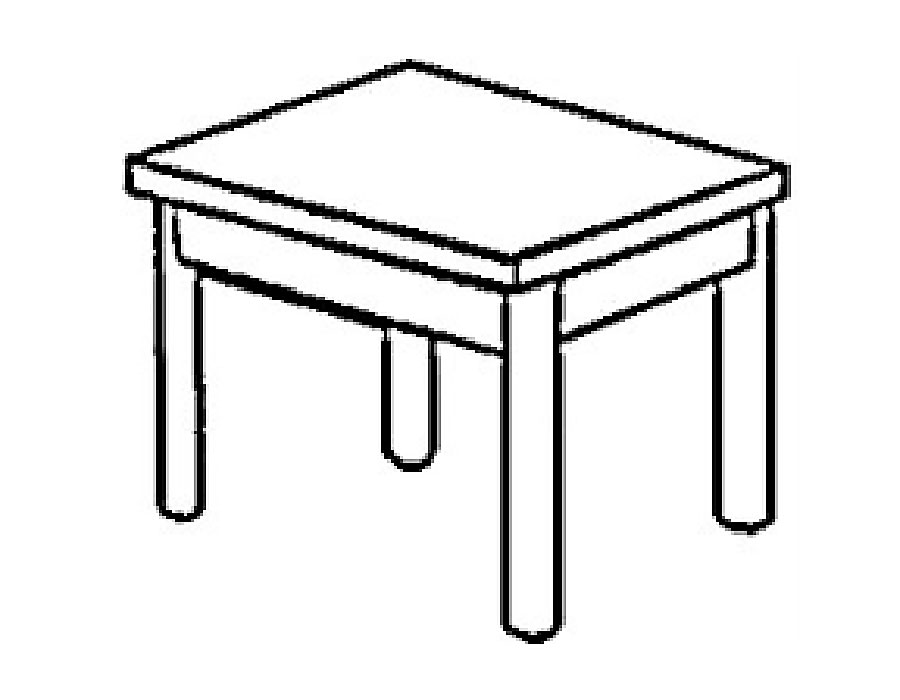 Раскраска стол скачать и распечатать