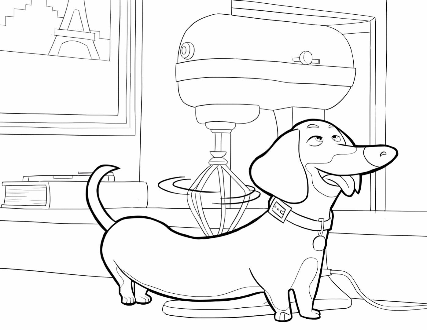 Домашняя жизнь домашних животных раскраски