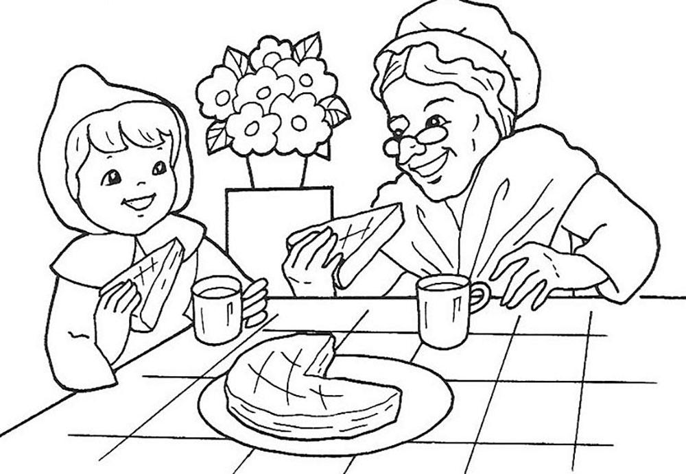 Днем рождения, картинки с днем рождения бабушке от внучки раскраска