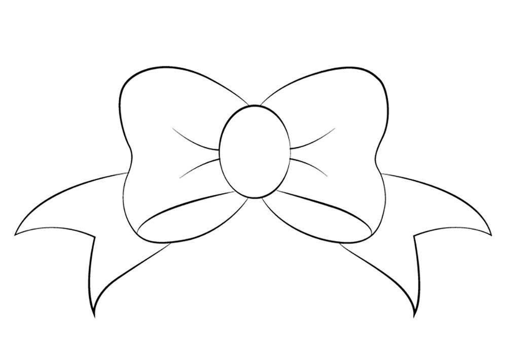 Банты рисунок карандашом