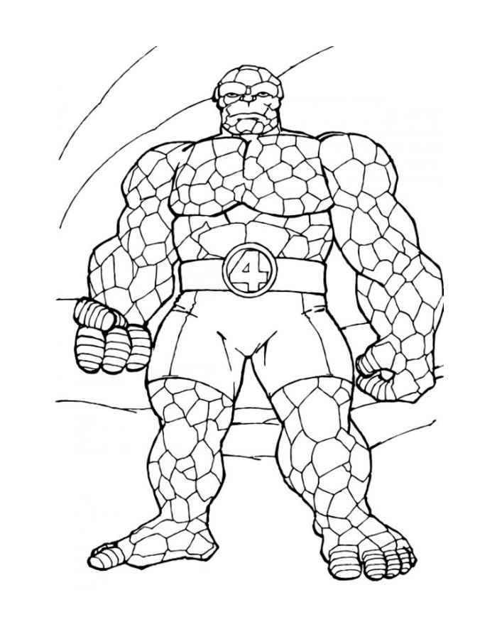 Раскраски для мальчиков супергерои распечатать бесплатно - 7