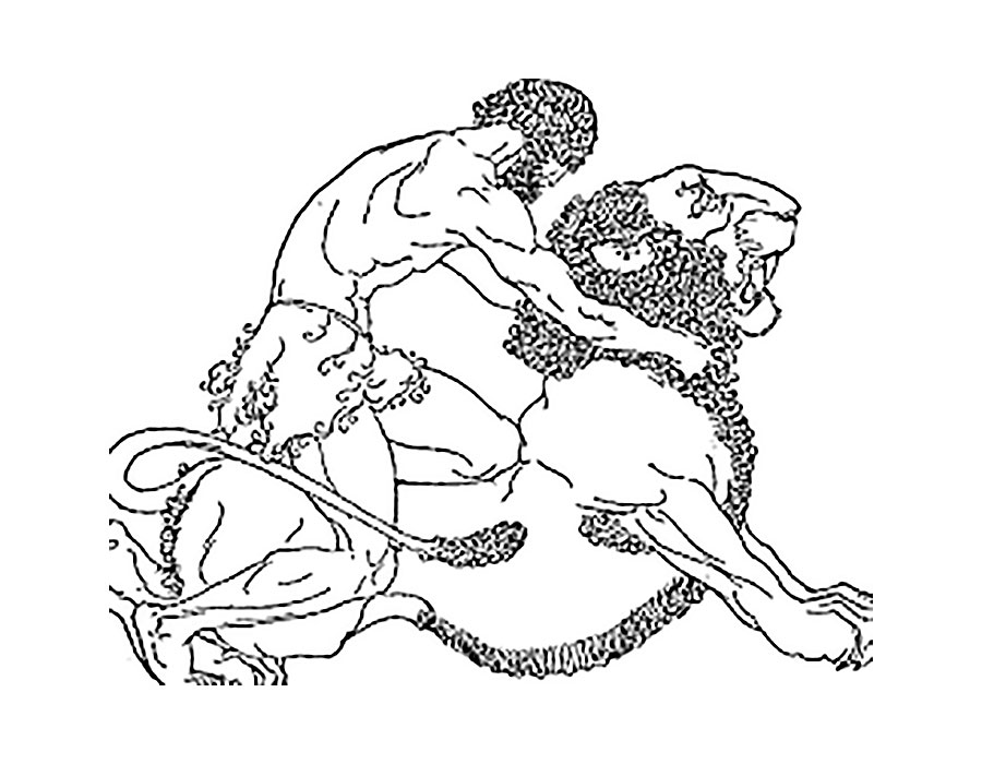 Рисунки из мифов древней греции карандашом
