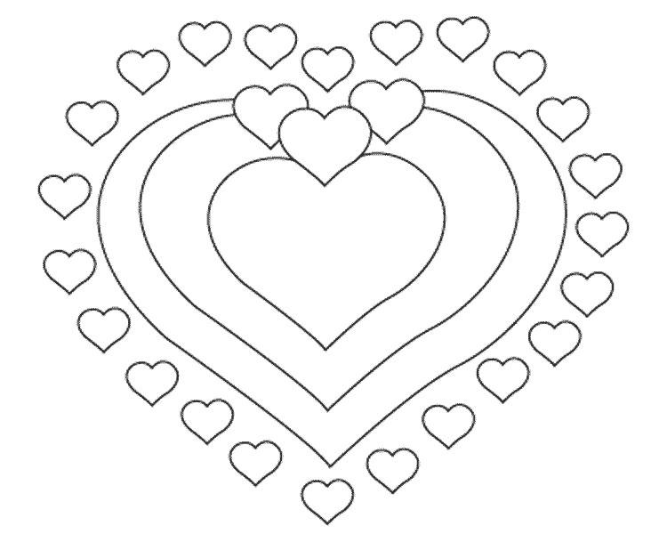 Днем рождения, открытки сердечко распечатать