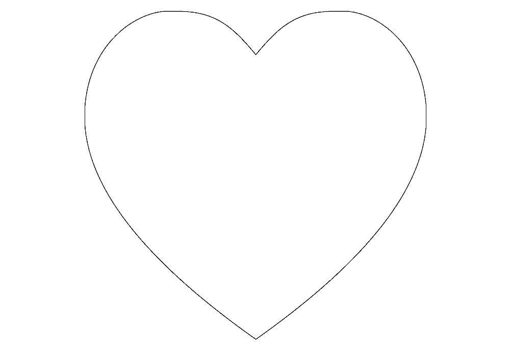Супер, раскраска картинки сердце