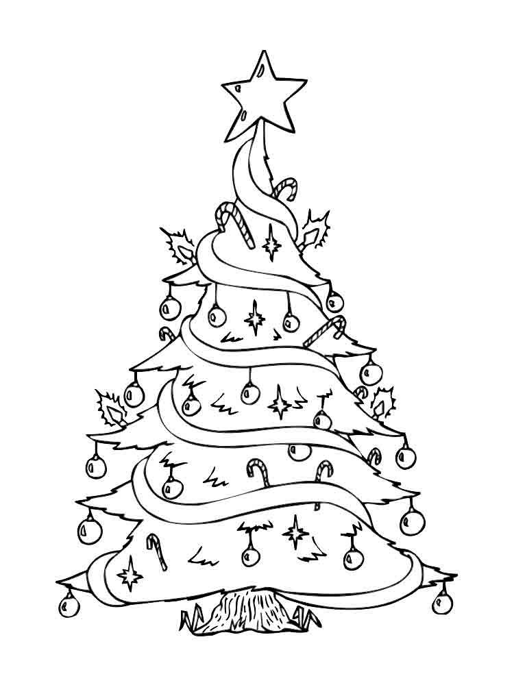 Днем рождения, картинки с новогодней елкой распечатать