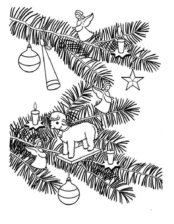 Картинка новогоднее настроение черно-белое формат а3