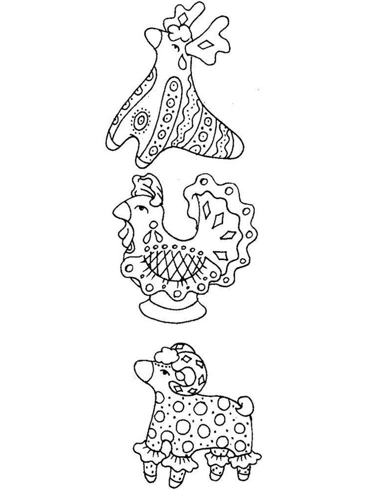 картинки раскраски дымка индии