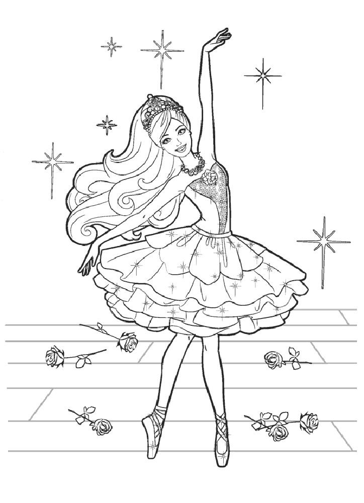 Распечатать раскраски для девочек антистресс - 4