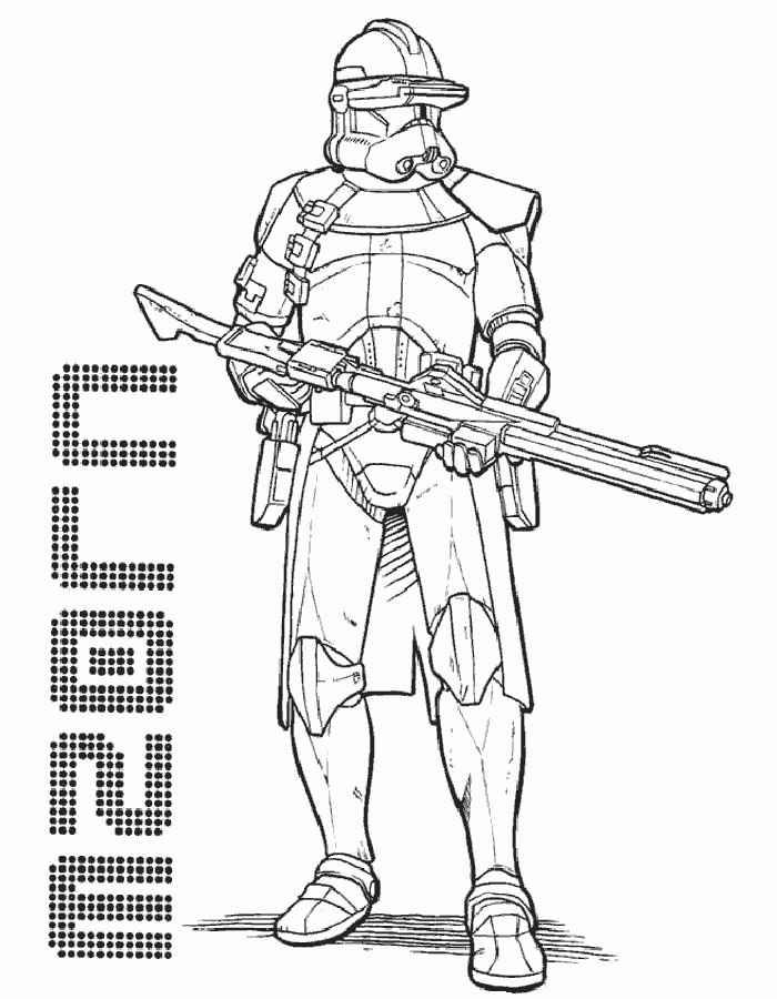 Раскраска звездные войны - 4