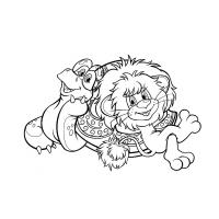 Раскраски героев мультфильма Львёнок и черепаха скачать и ...