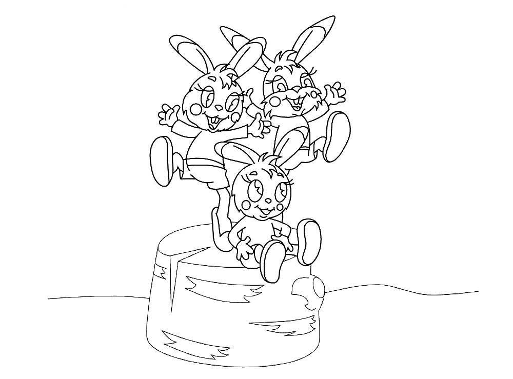 раскраски мультфильма мешок яблок скачать и распечатать
