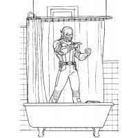 Скачать и распечатать раскраски Человек Муравей