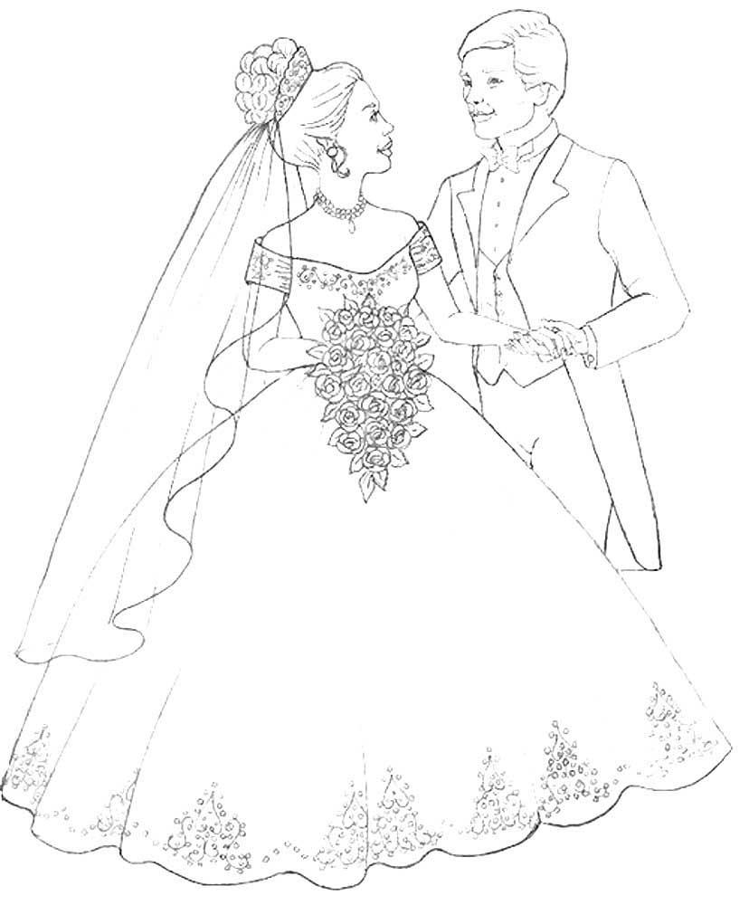 Свадебные картинки распечатать