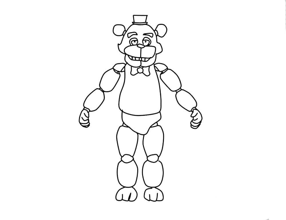 скачать и распечатать раскраски аниматроники