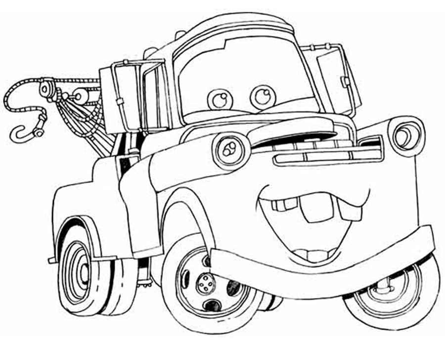 Раскраски онлайн для мальчиков машины 6 бесплатно - 10