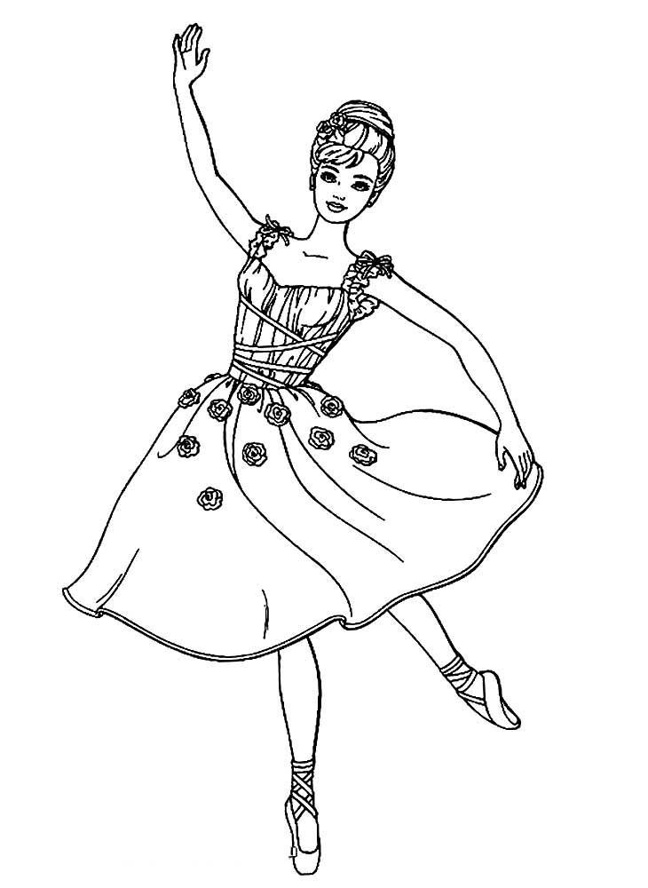 полгода появился балерина картинки раскрашивать хотите подчеркнуть