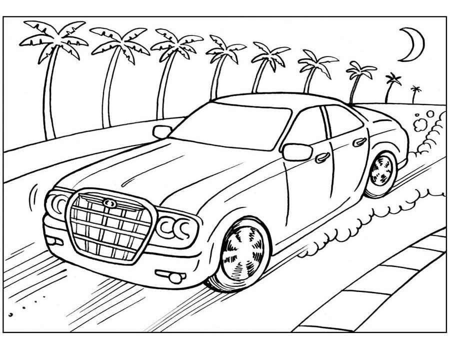 Игры онлайн раскраска автомобилей