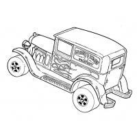 Скачать и распечатать раскраски Хот Вилс Hot Wheels