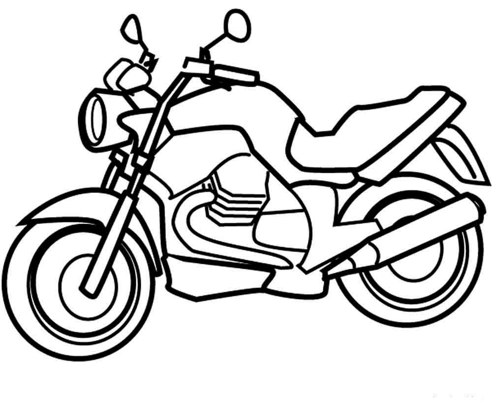 Раскраски онлайн мотоциклы