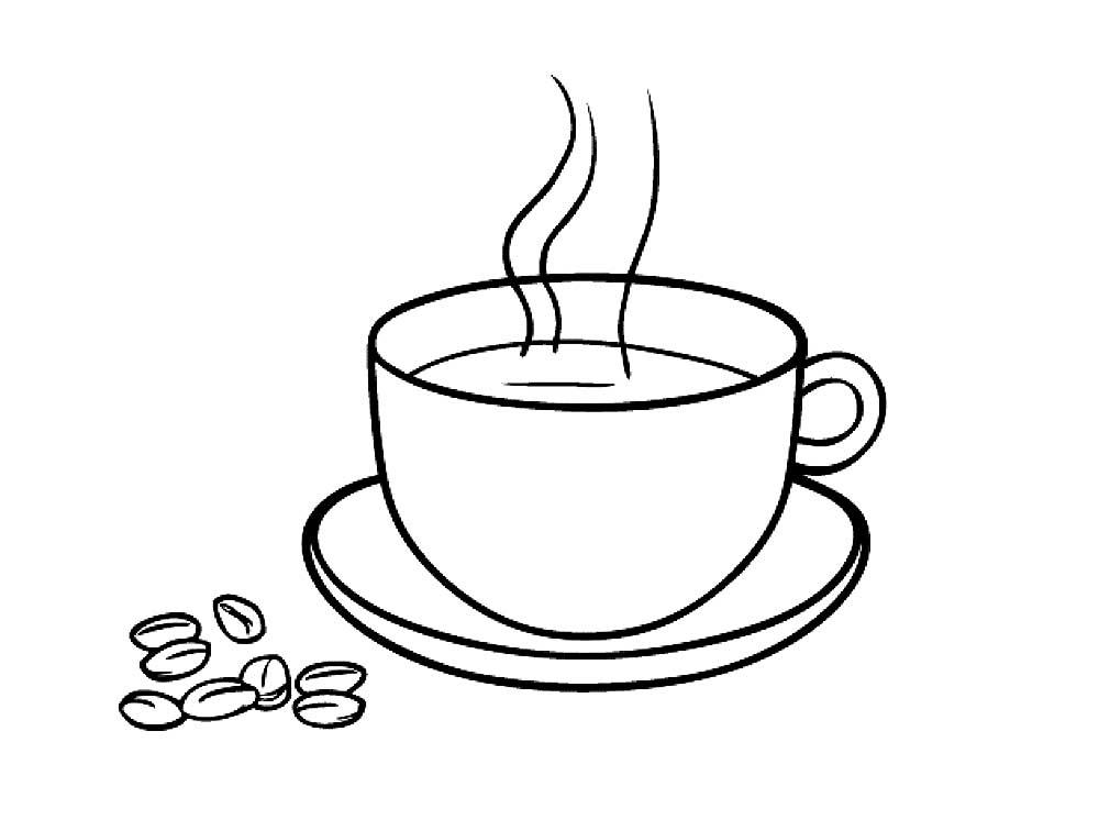 Назвать альбом, чашка кофе картинки черно белые