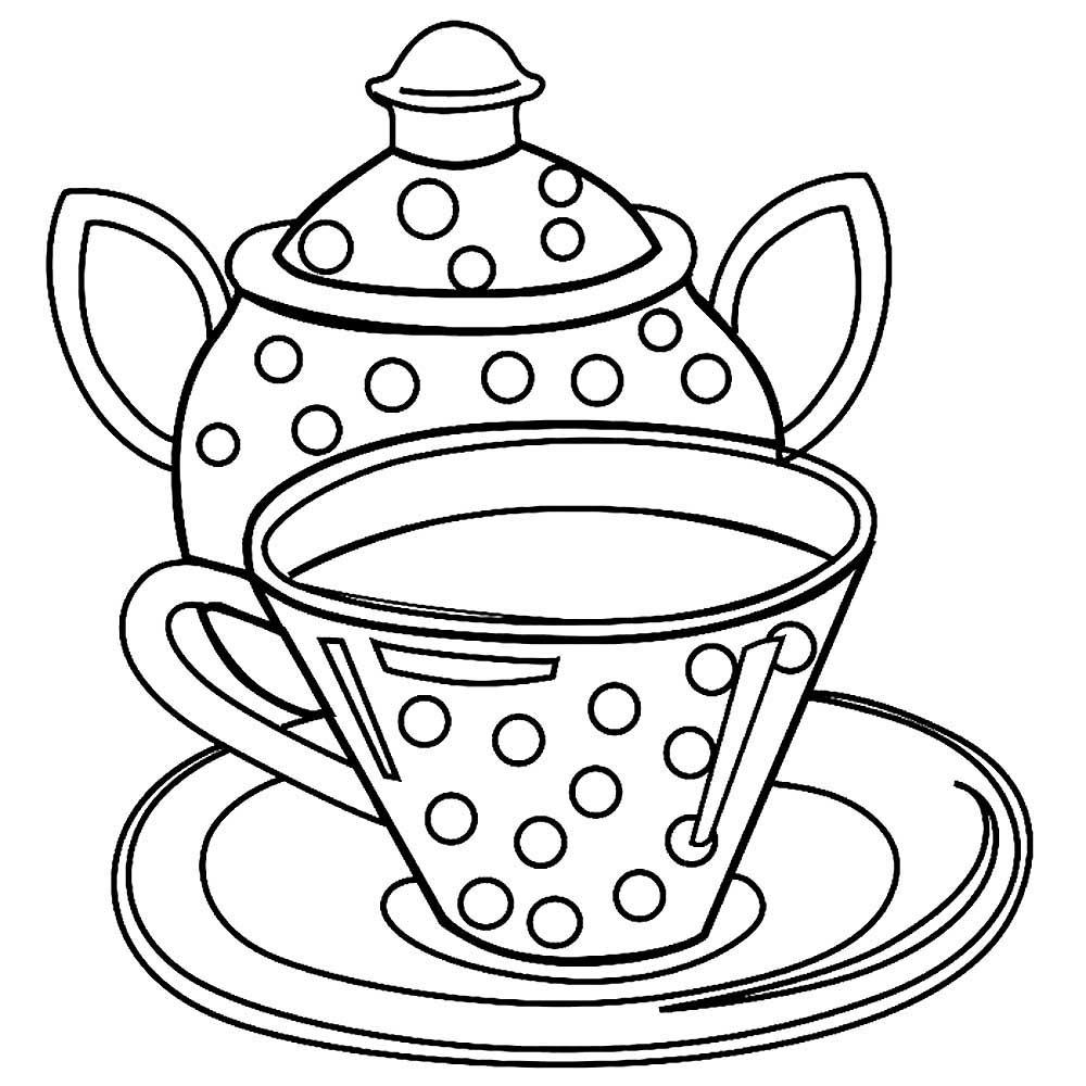 рисунки чайного сервиза сообщили росбалту очевидцы