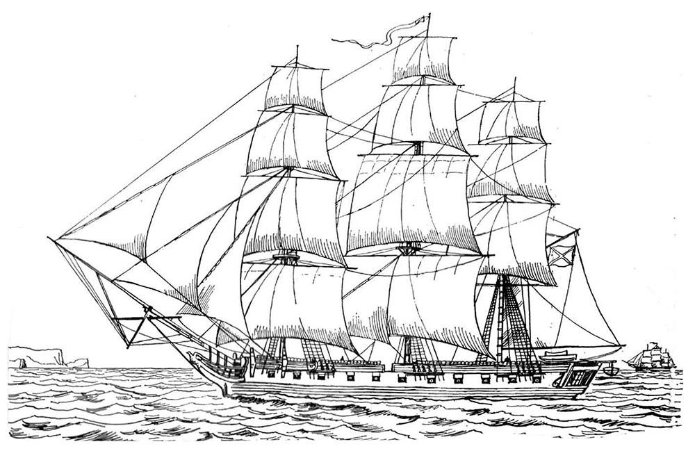 Раскраски кораблей скачать