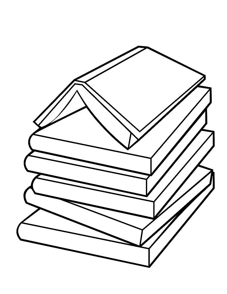 Книга картинки черно белые