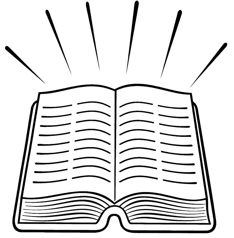 bible coloring pictures - 985×1000