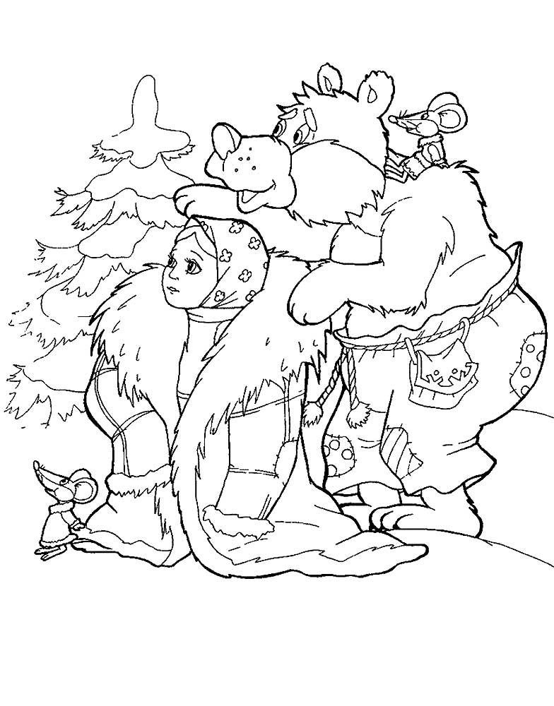 морозко картинки нарисовать ооо
