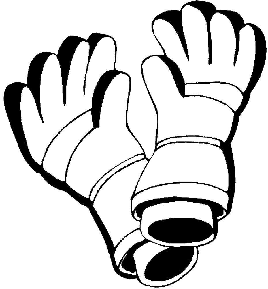 ищете картинки перчаток черно белые самодельных изделий