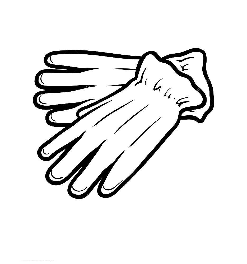 картинки перчаток черно белые нашем интернет-магазине