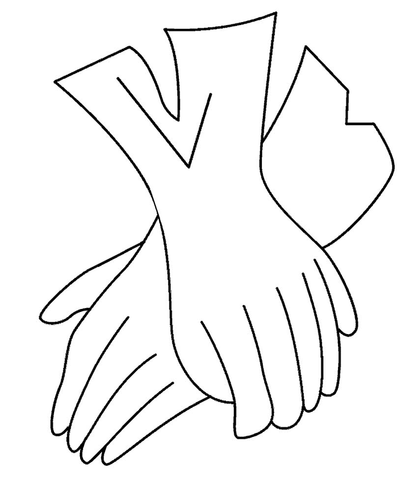 прекрасно картинки перчаток черно белые туристов это