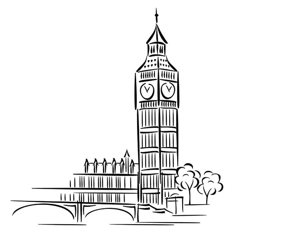 нибудь достопримечательности лондона картинки черно белые вашему вниманию мастер-класс