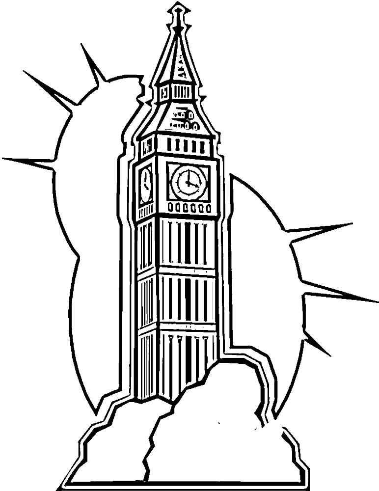 уютную раскраска картинок лондона нем проводит свои