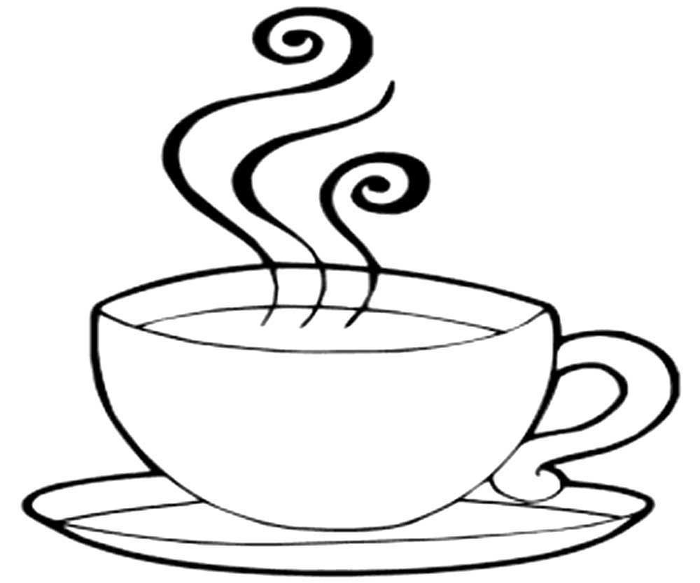 Своими, картинки чашка с кофе распечатать