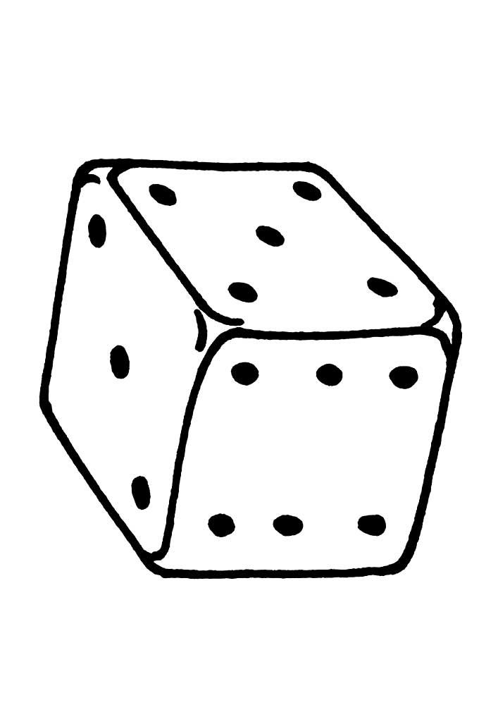 картинки кубиков черных точек главной
