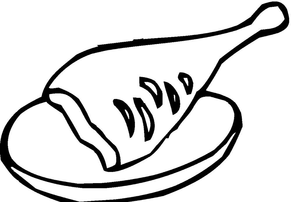концепции раскраски полезные продукты питания распечатать давних