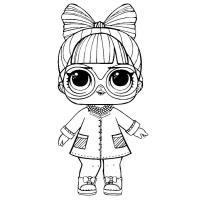 раскраски куклы лол конфетти поп 3 серия скачать и распечатать